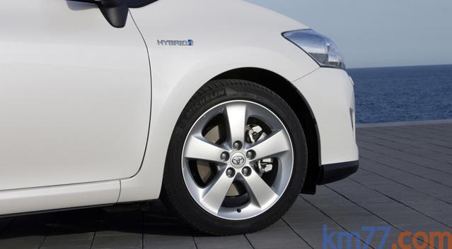 Presentación Toyota Auris HSD. Curiosidades.