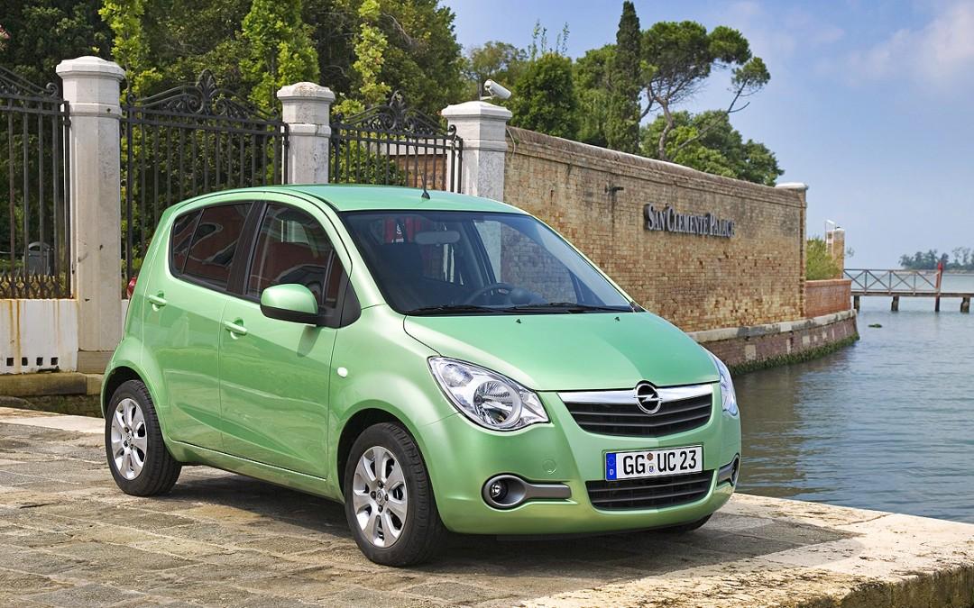 Nuevo motor de gasolina y Start/Stop para el Opel Agila.