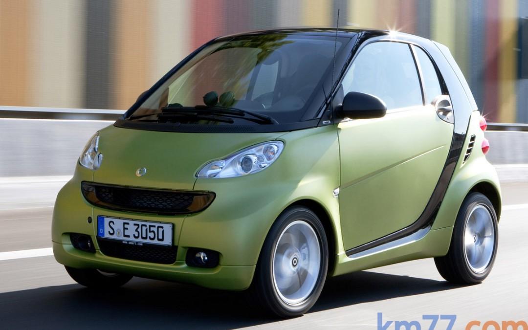 Nuevo smart fortwo disponible desde 9.800 €.