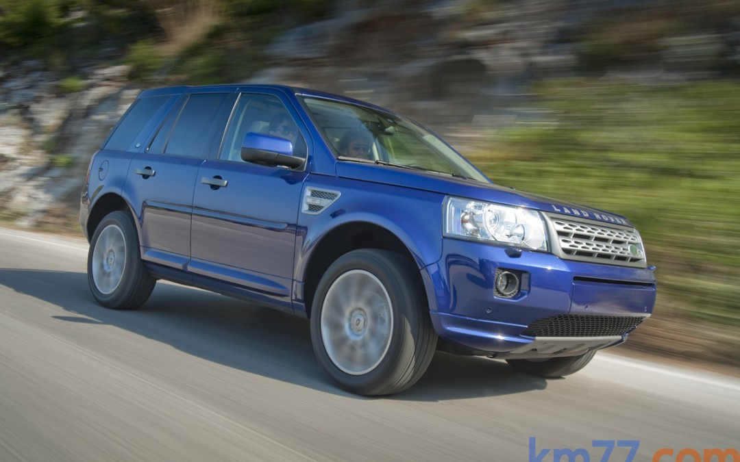 Nuevo Land Rover Freelander, ahora con tracción delantera.