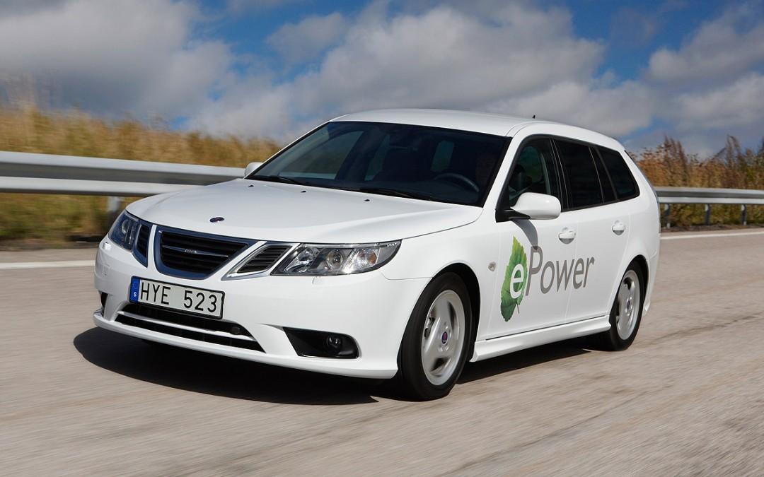 Saab 9-3 ePower, el primer modelo eléctrico de Saab.