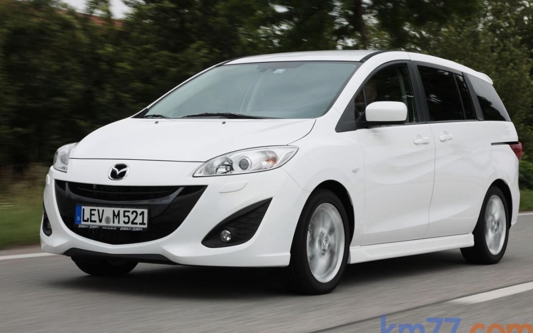 Mazda pone en venta el nuevo Mazda5. Disponible desde 21.000 €