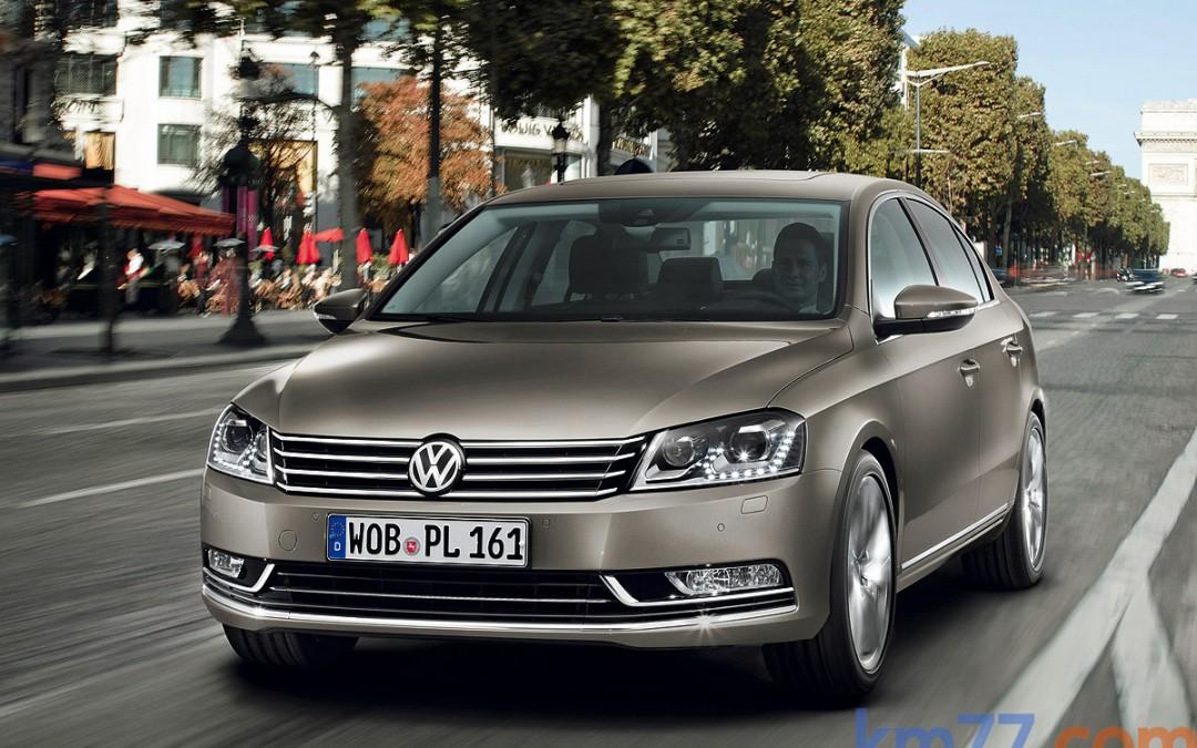 Novedades en el VW Passat de 2011.