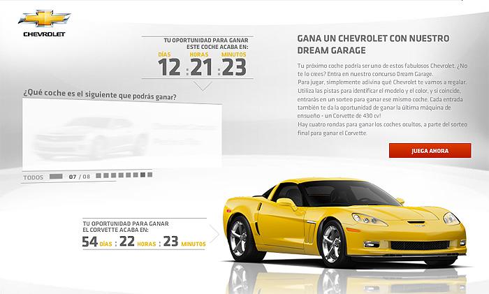 ¿Quieres un Corvette? te quedan 54 días, 22 horas y 23 minutos…