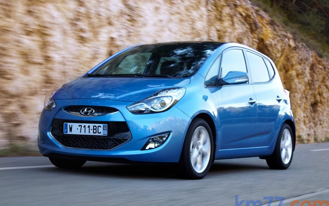 Hyundai pone en venta el monovolumen ix20. Desde 13.500 €.