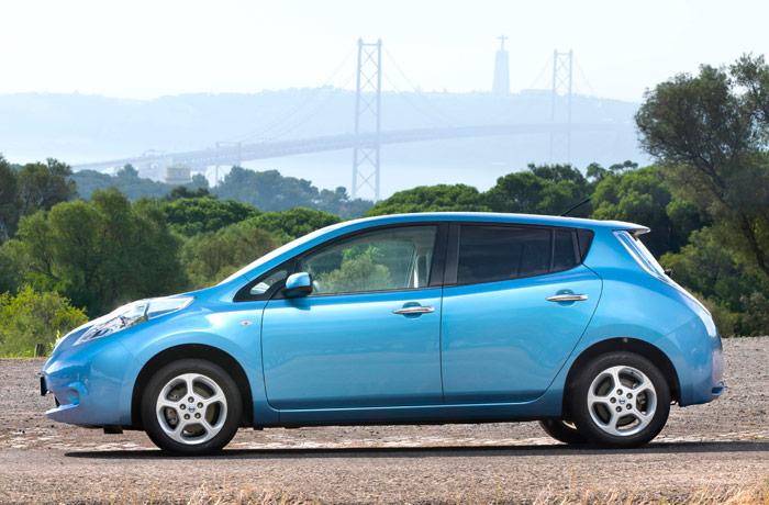 Nissan Leaf: arriba y abajo