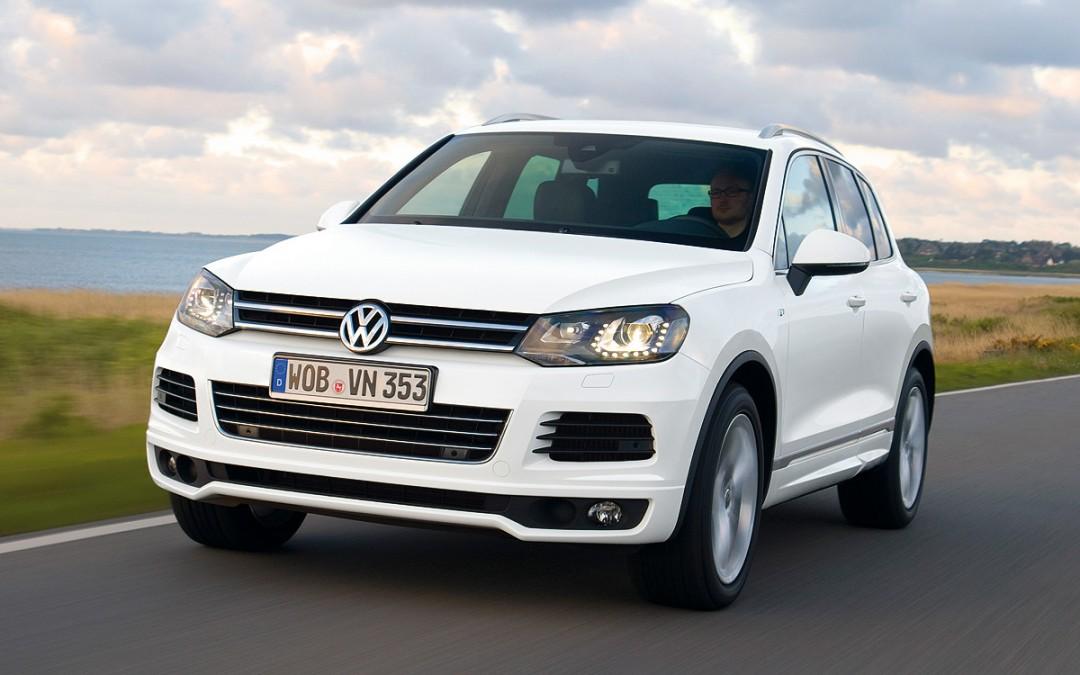 VW Touareg, ahora con un motor Diesel de 245 CV.