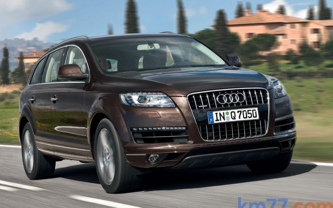 Nuevo motor 3.0 TDI de 245 CV para el Audi Q7