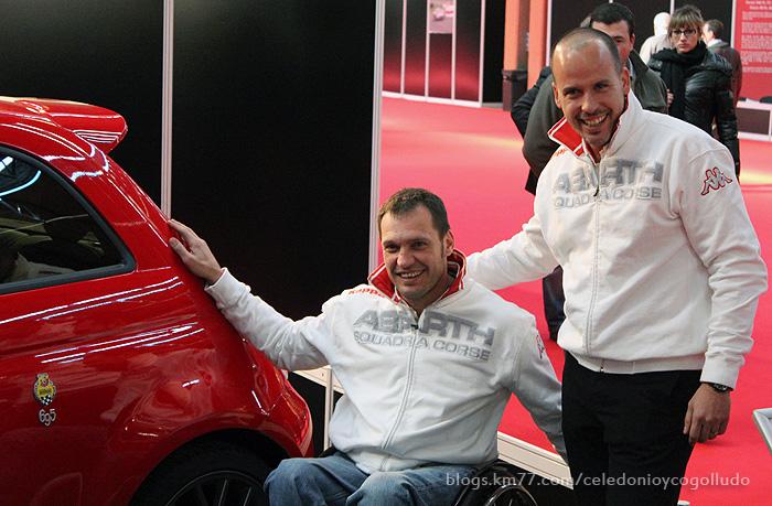 Abarth 695 Tributo Ferrari y Albert Llovera