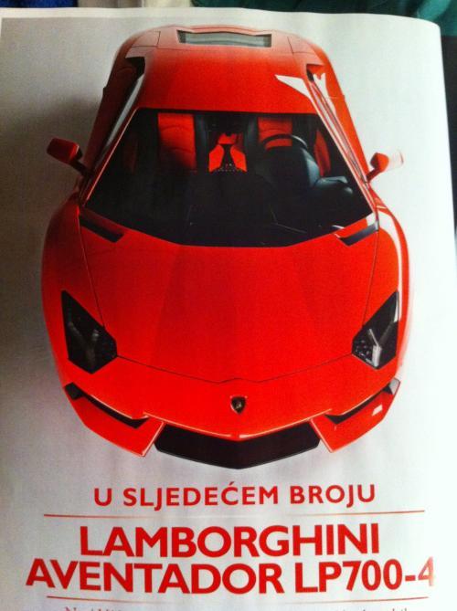 Lamborghini Aventador, el sustituto del Murciélago!