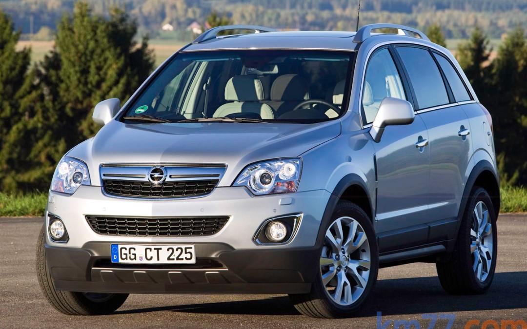 Nuevo Opel Antara, en venta desde 20.300 euros