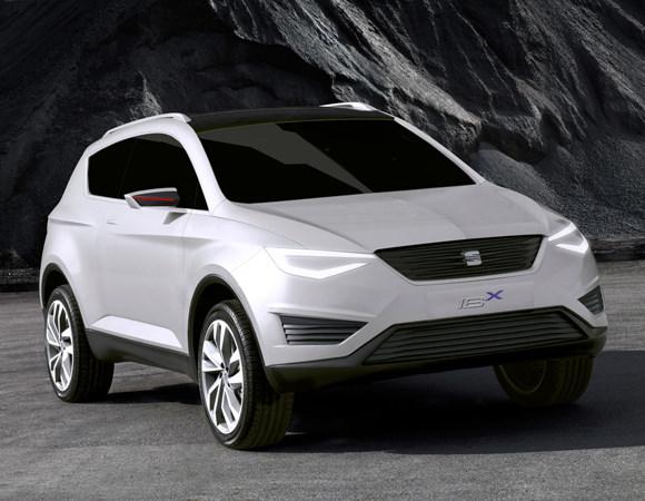 SEAT IBx Concept. ¿Primer SUV de SEAT?