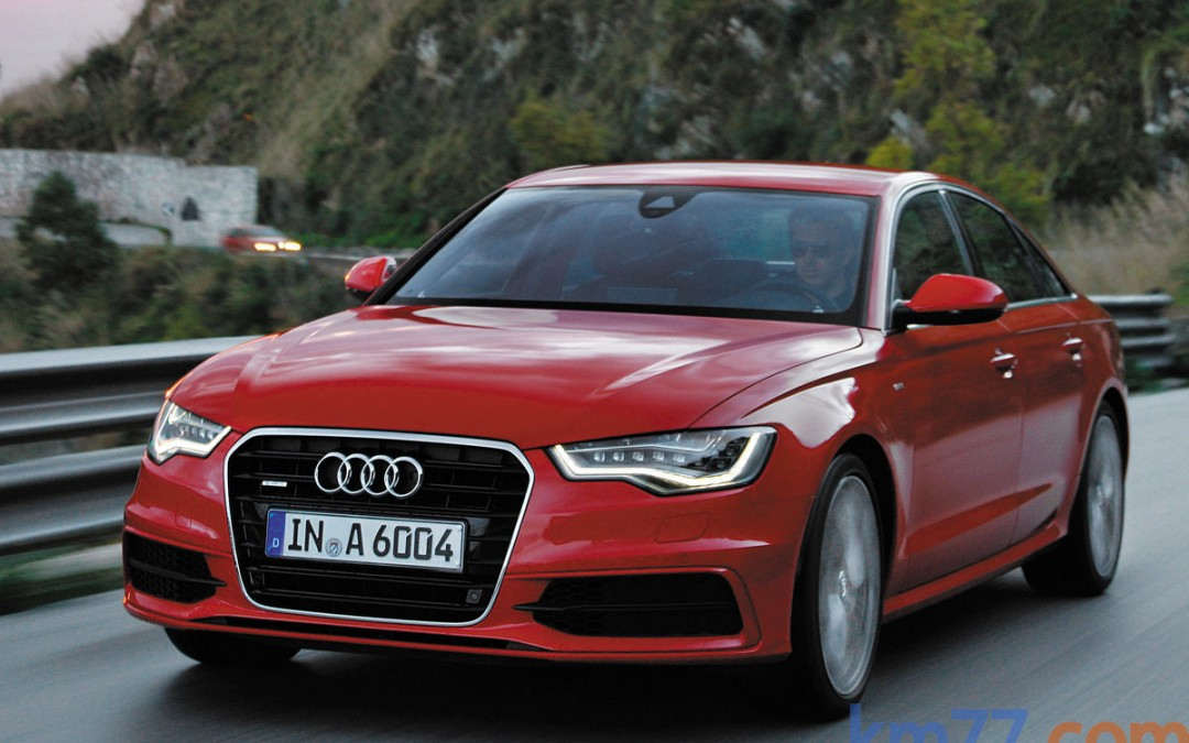 Nueva versión 3.0 BiTDI de 313 CV para el Audi A6