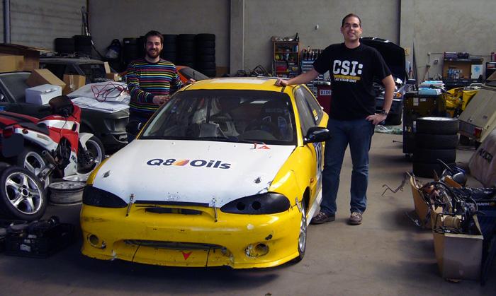 Ya es oficial…mi primer coche de carreras