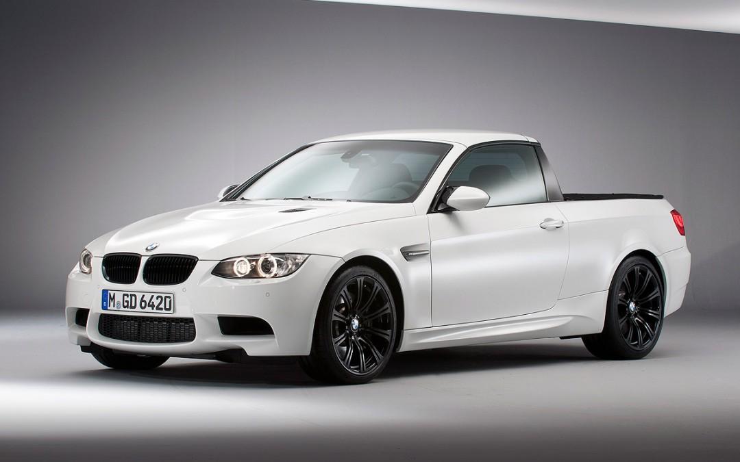 Así es el nuevo BMW M3 con carrocería pick-up!