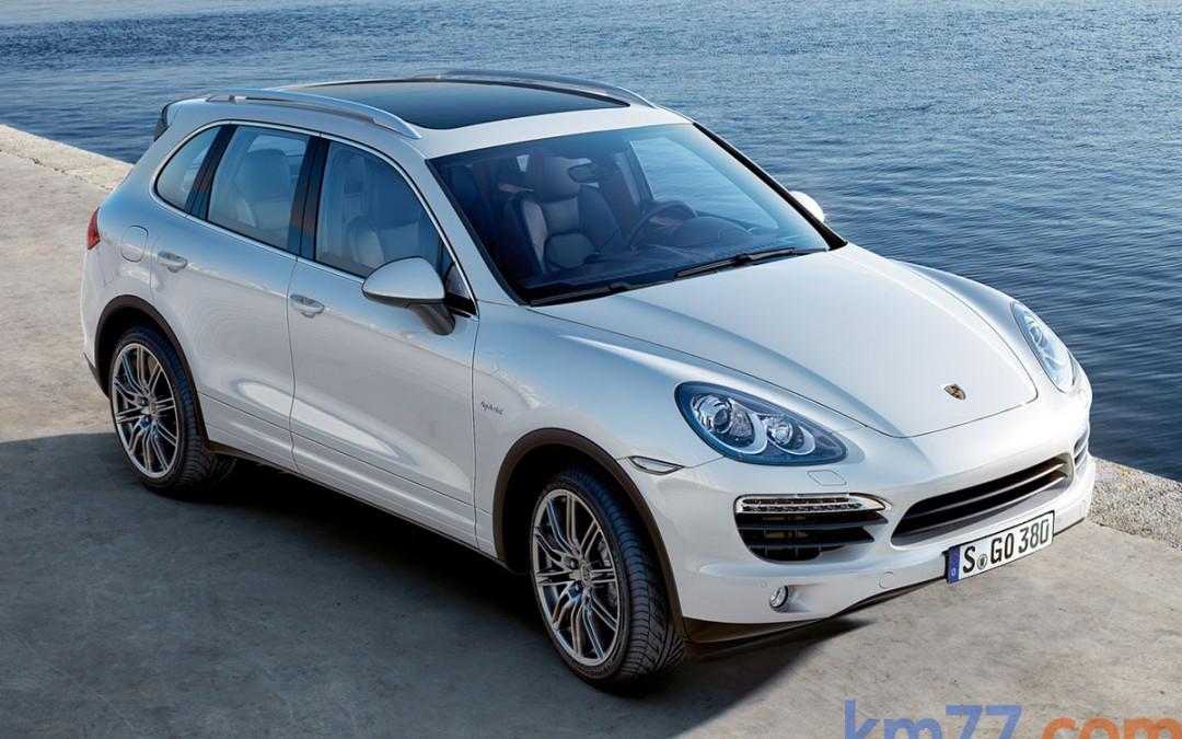 Porsche Cayenne Diesel, ahora con 245 CV.