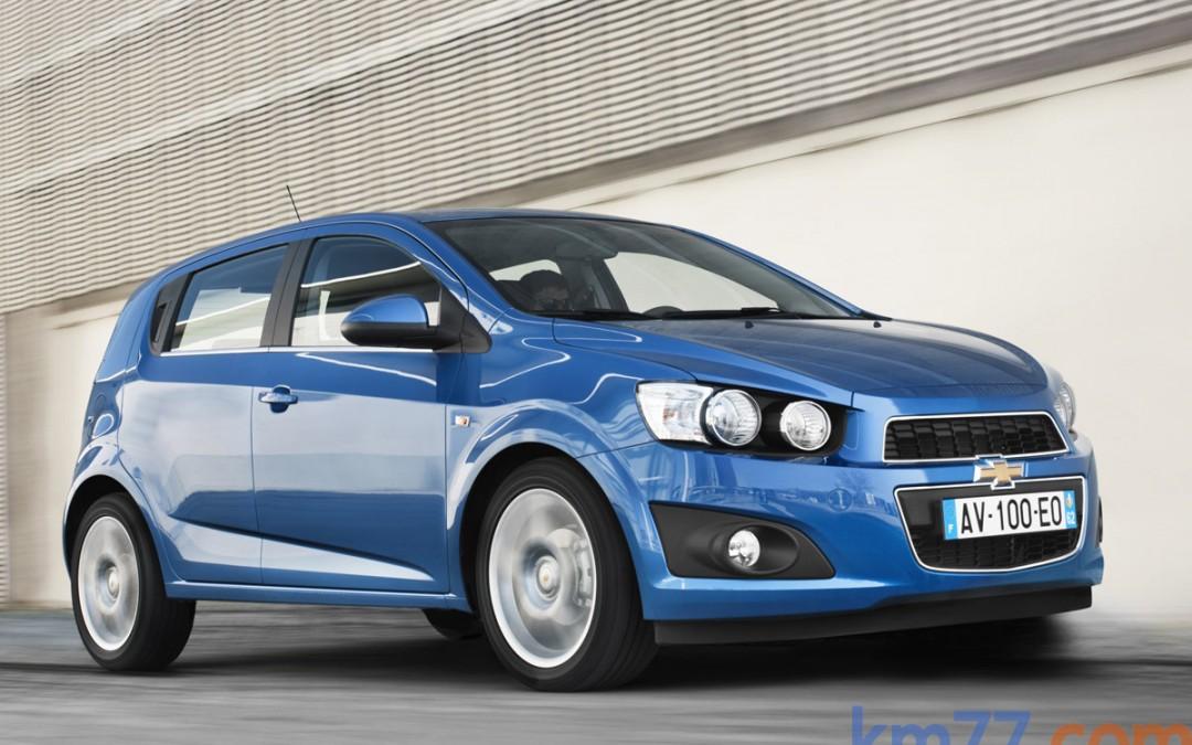 Nuevo Chevrolet Aveo Diesel desde 12.250 Euros con ESP de serie. Todos los precios.