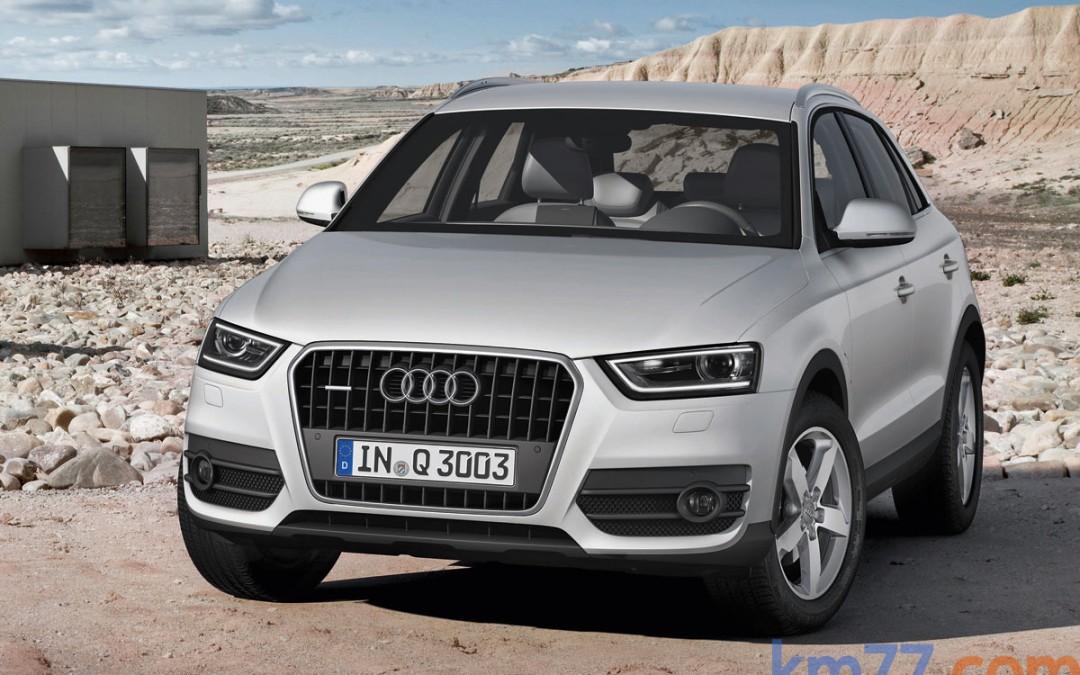 Audi Q3, en venta desde 29.900 Euros. Nueva versión 2.0 TDI 140 CV quattro.