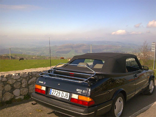 Saab 900 descapotable de 1992