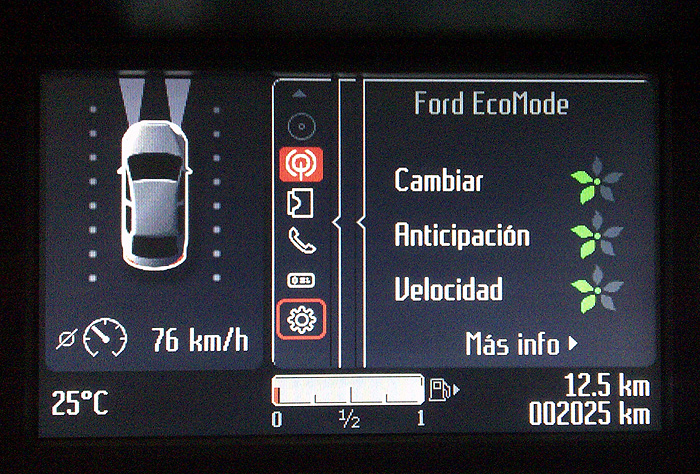 Ford Mondeo. ECOmode, Drive Alert