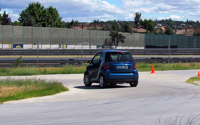 Smart. Curso de conducción segura