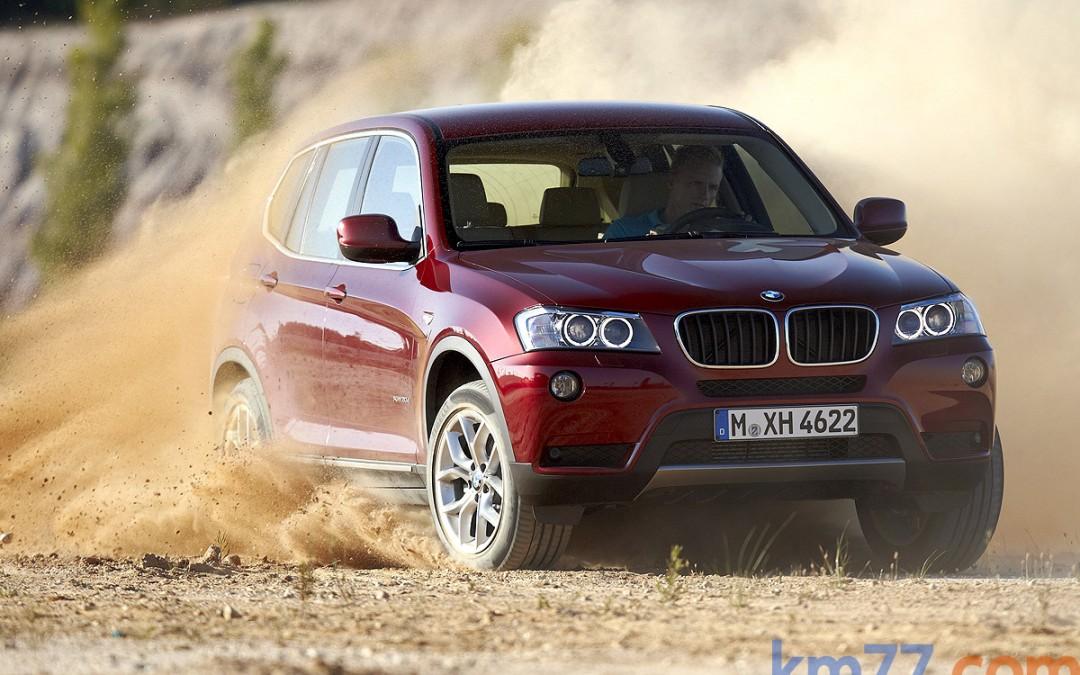 BMW X3, ahora con tracción trasera. Nueva versión sDrive18d