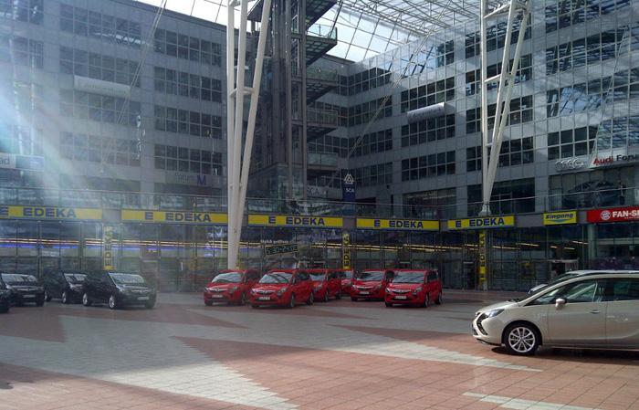 Opel Zafira Tourer. Presentación en Munich