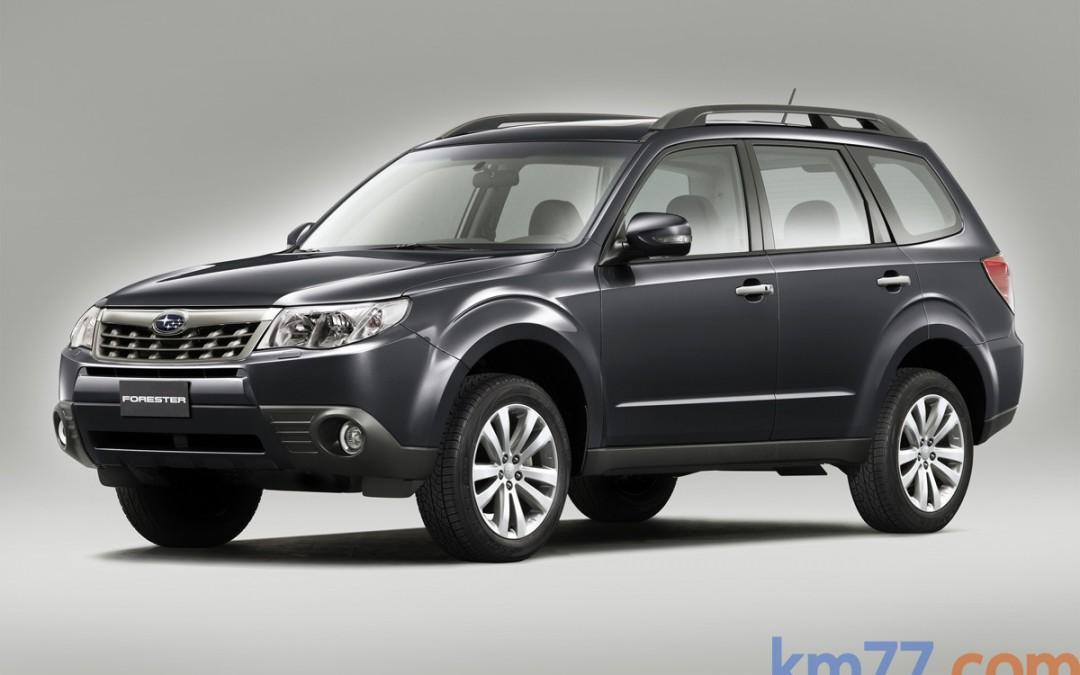 Nueva gama del Subaru Forester: más equipamiento y menor consumo. En venta desde 24.200 Euros