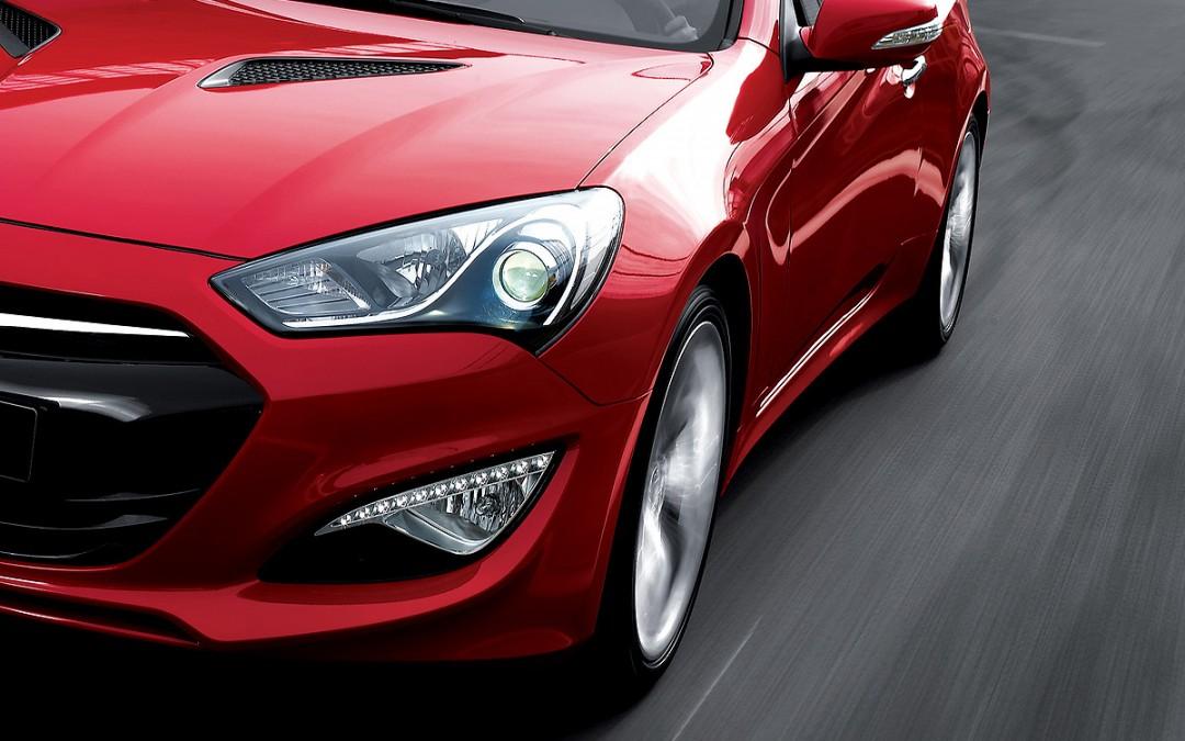 Así es el nuevo Hyundai Genesis Coupe.