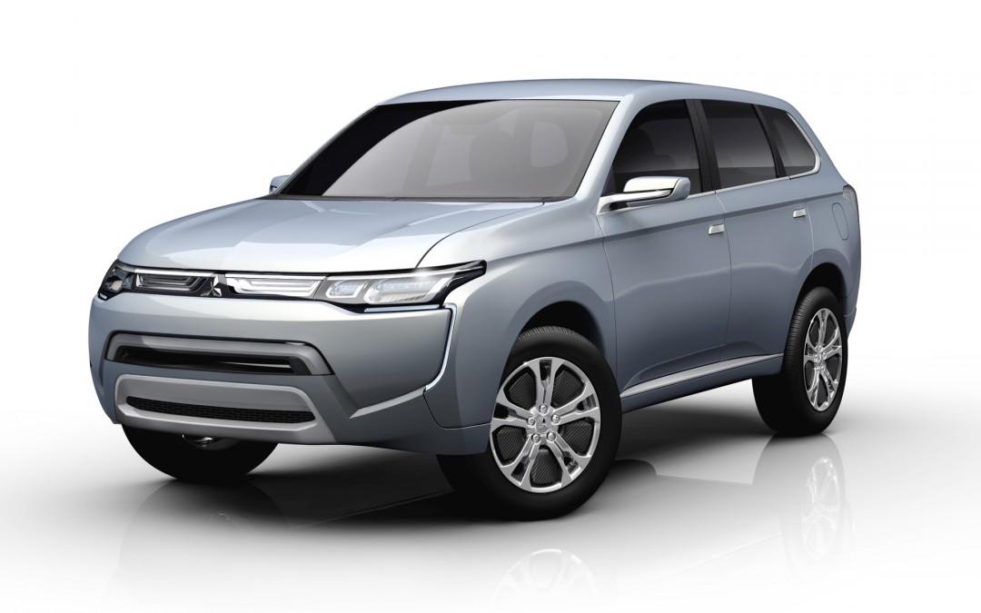 Mitsubishi Concept PX-MiEV II. Avance el nuevo Outlander.