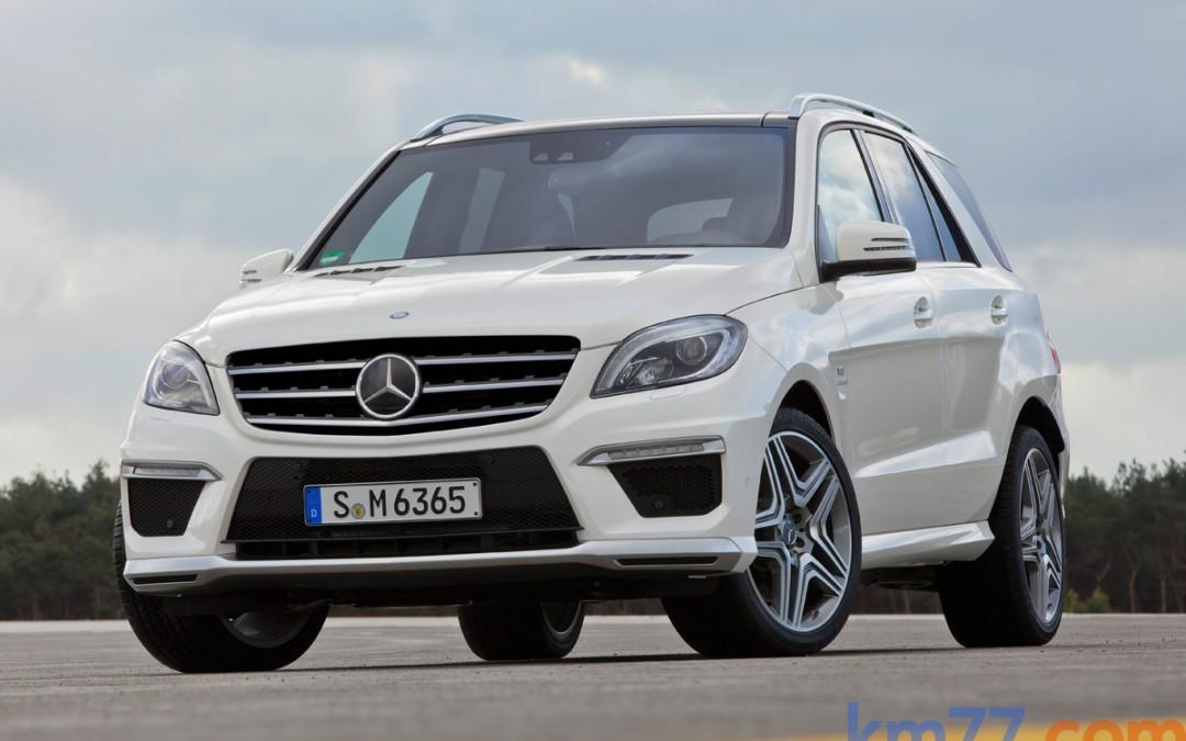 Nuevo Mercedes-Benz Clase ML 63 AMG. En venta por 122.500 Euros.