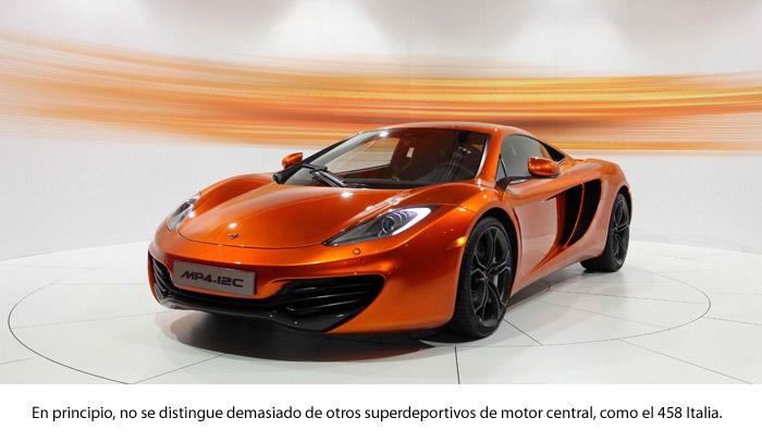 ¿Un McLaren MP4-12C?: ¡ni en sueños!