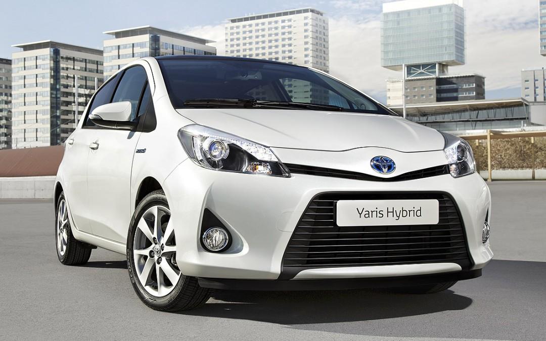 Primeras imágenes del nuevo Toyota Yaris híbrido.