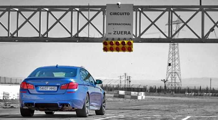 BMW M5. Vídeos (I)