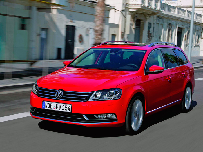 Prueba de consumo (82): Volkswagen Passat Variant 1.6-Tdi Blue Motion