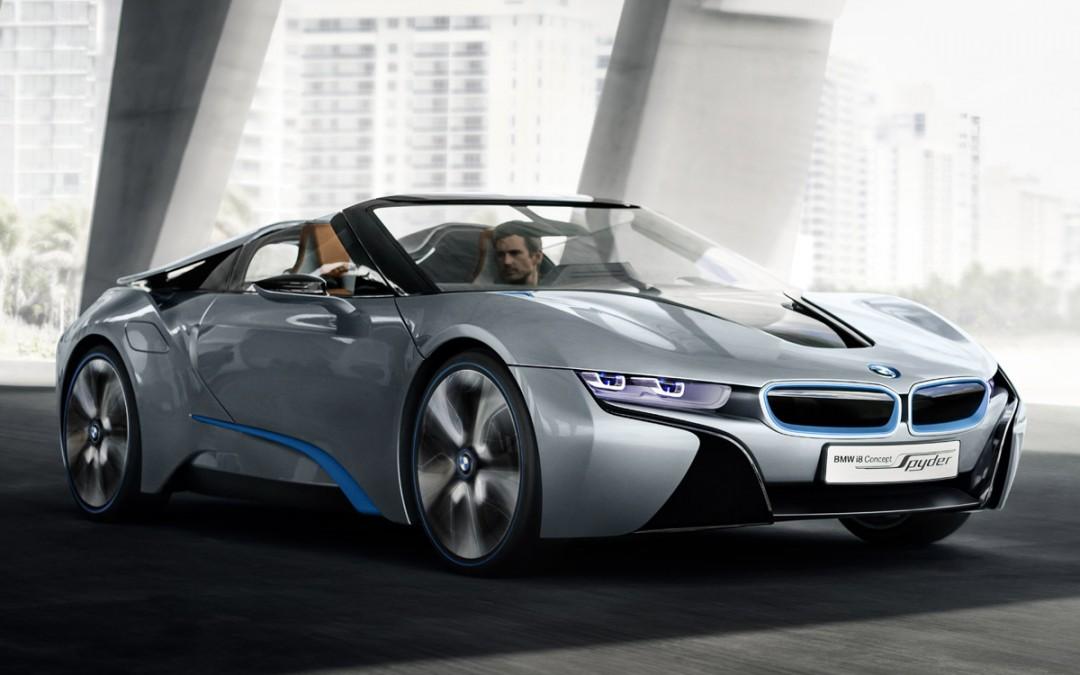 Nuevo BMW i8 Concept Spyder: futuro deportivo híbrido de BMW.