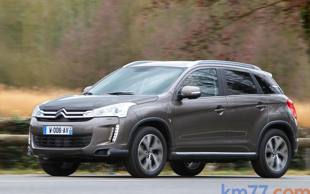 Nuevo Citroën C4 Aircross, en venta desde 21.600 Euros.