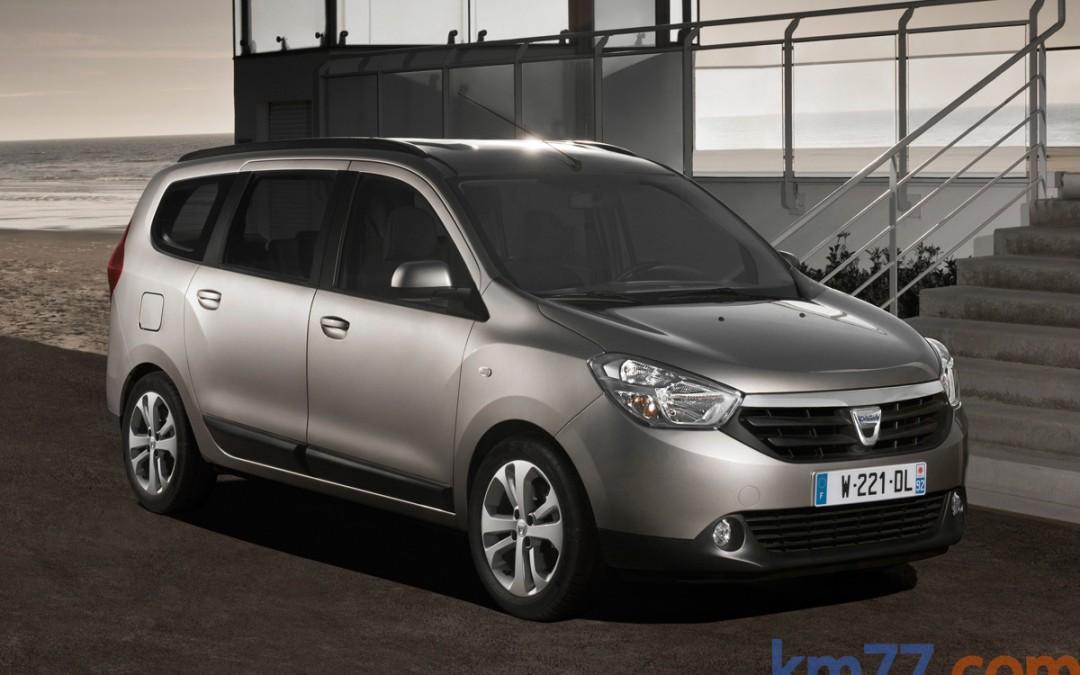 Nuevo Dacia Lodgy, en venta desde 9.900 Euros. Todos los precios.