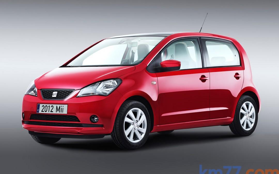 SEAT Mii de 5 puertas, en venta desde 8.990 Euros.