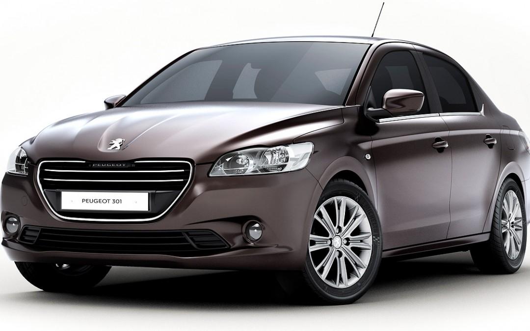 Peugeot 301, nueva berlina de cuatro puertas y coste contenido.