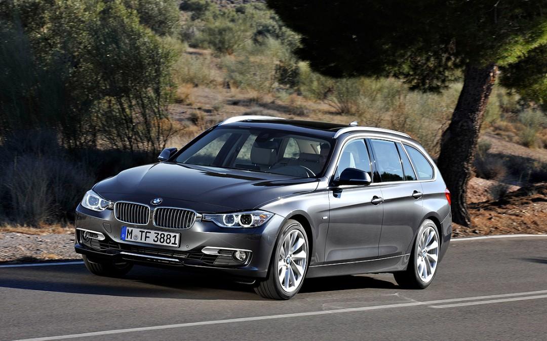 Así es el nuevo BMW Serie 3 Touring.