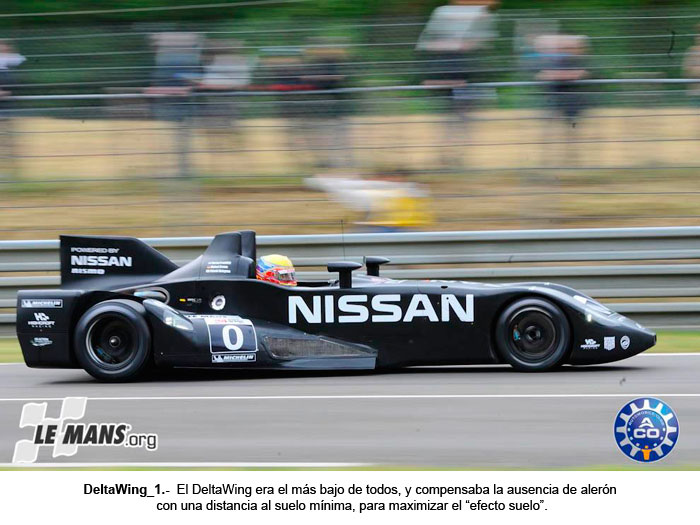 El DeltaWing en las 24 Horas de Le Mans