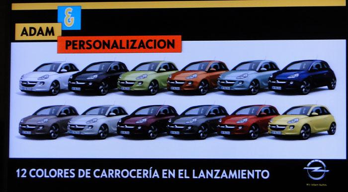 Opel ADAM. Presentación: Coche a la carta