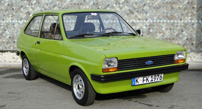 El primer Ford Fiesta