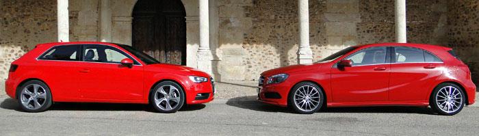 Audi A3 1.8 TFSI – Mercedes-Benz A 180 CDI. Comparativa