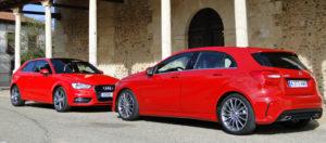 Mercedes-Benz A 180 CDI / Audi A3 1.8 TFSI
