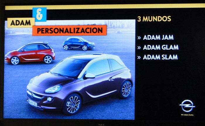 Opel ADAM. Tres acabados