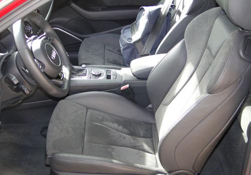 Audi A3 1.8 TFSI. Asientos delanteros