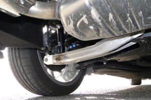 Mercedes-Benz Clase B. Suspensión posterior