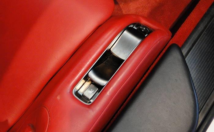 Lexus LFA. Regulaciones eléctricas de los asientos